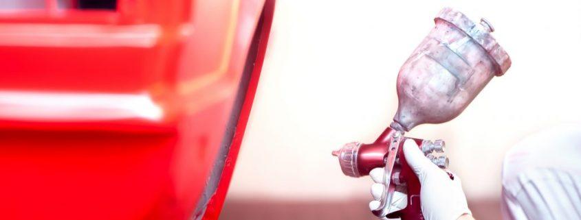 Red car coating pakistan