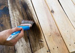 applying wood coatings with a brush